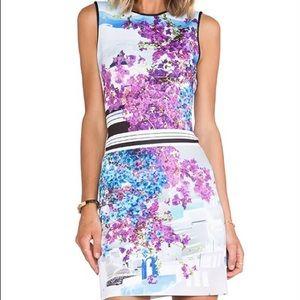 NYT CLOVER CANYON Santorini Stripe Neoprene Dress
